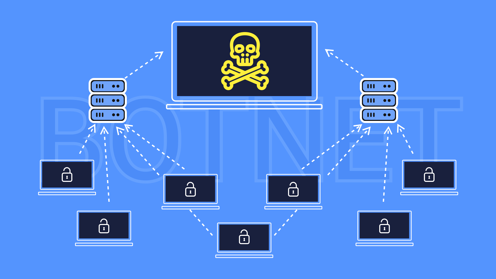 What is a Botnet? How does a Botnet Work? Keep Your Privacy Well